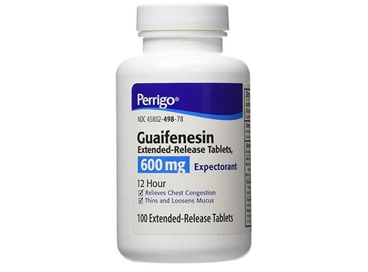 Thuốc trị viêm amidan Guaifenesin