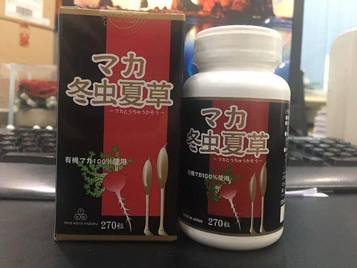 Thuốc trị xuất tinh sớm của Nhật Maca Tochukaso