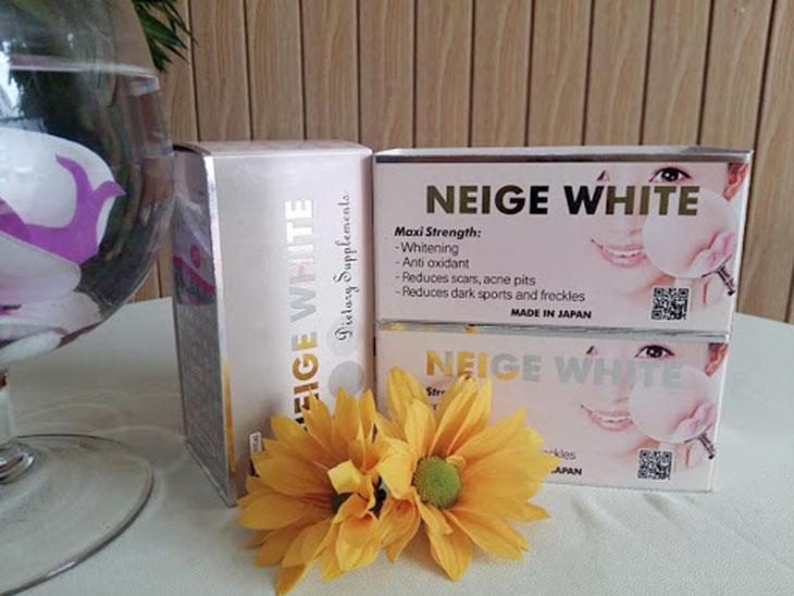 Thuốc uống trị tàn nhang Neige White nhận được nhiều phản hồi tích cực