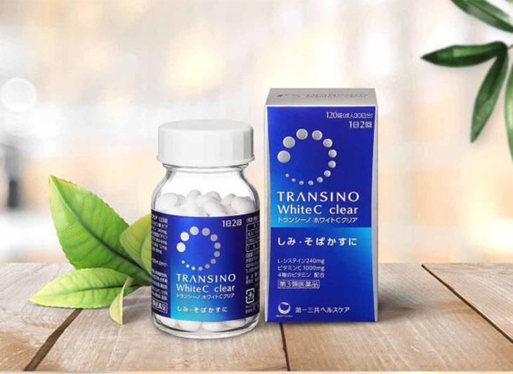 Transino White C là thuốc uống trị tàn nhang của Nhật