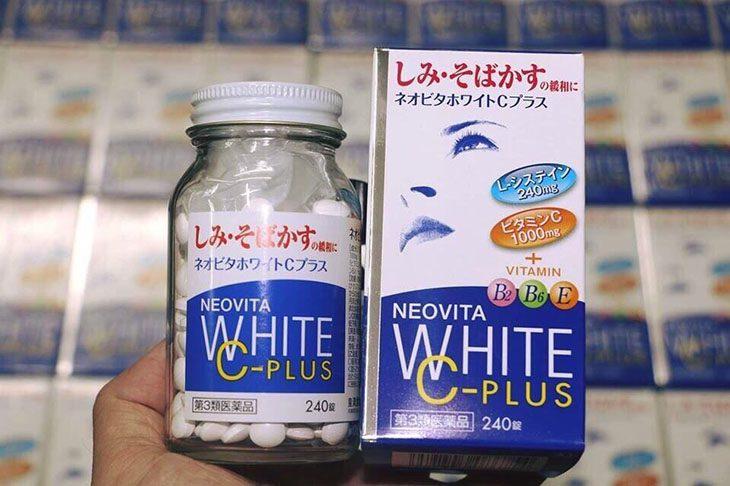 Thuốc uống trị tàn nhang Vita White Plus giúp níu giữ nét xuân, mang lại làn da trắng mịn