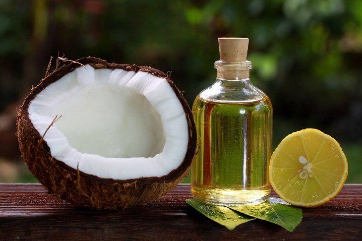 Dầu dừa và nước cốt chanh giúp đẩy lùi các vết nám, tàn nhang nhanh chóng
