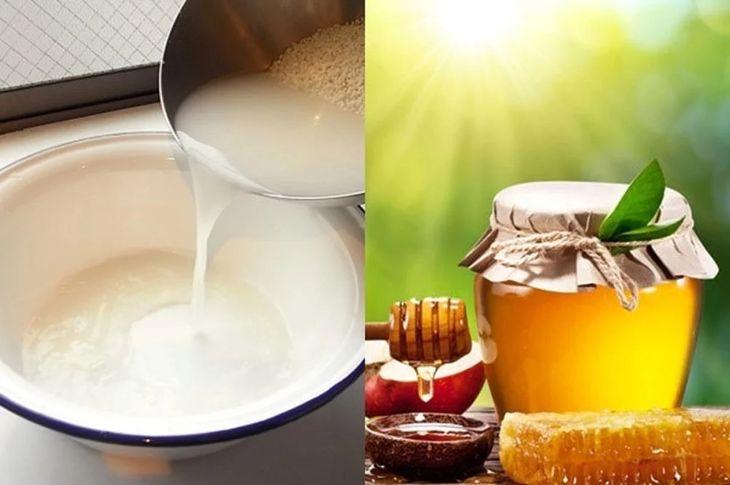 Trị nám bằng nước vo gạo với mật ong nhanh chóng, hiệu quả