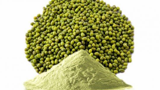 Bột đậu xanh có công dụng trị mụn sưng đỏ hiệu quả