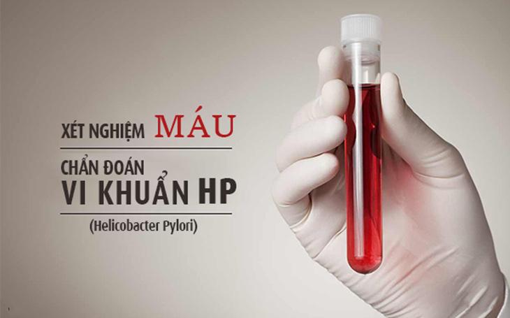 Phương pháp xét nghiệm máu tìm HP cũng áp dụng phổ biến tại nhiều cơ sở