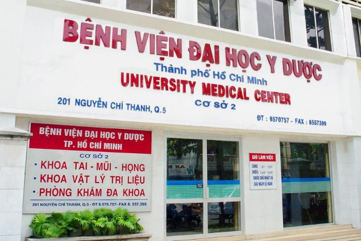 Bệnh viên Đại học Y dược TPHCM - Khoa Da Liễu là một trong những địa chỉ thăm khám mụn được nhiều người lựa chọn