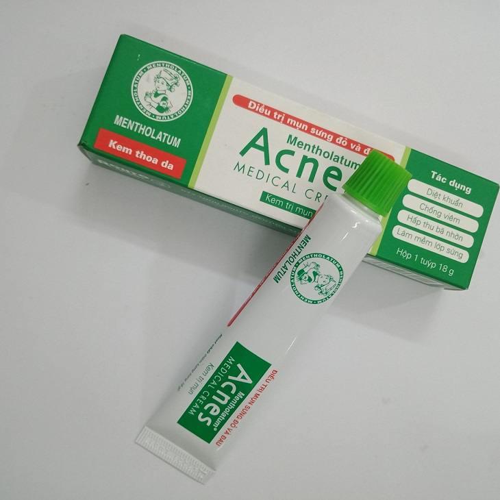 Acnes Medical Cream có mộ số tác dụng phụ, nên trước khi dùng bạn nên hỏi ý kiến bác sĩ.