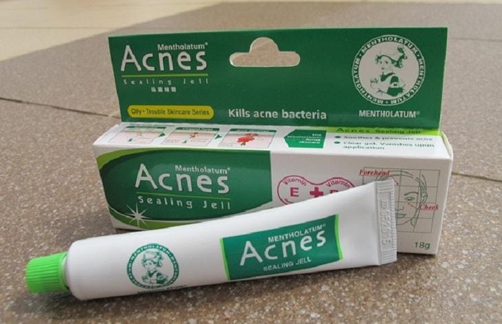 Kem trị mụn Acnes có thành phần như thế nào?