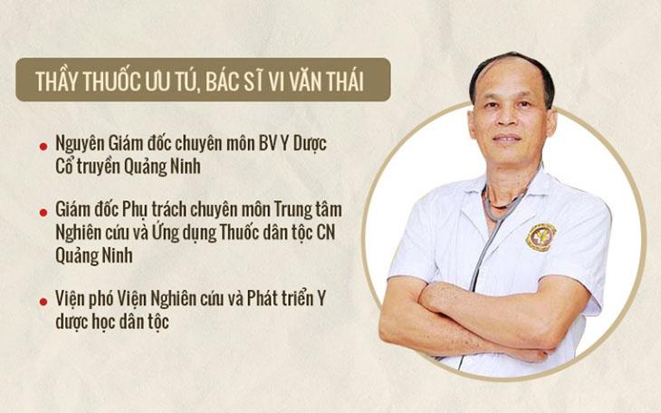 Bác sĩ Vi Văn Thái