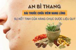 An Bì Thang chữa viêm nang lông