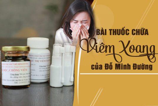 Bài thuốc đặc trị viêm xoang, viêm mũi dị ứng Đỗ Minh Đường