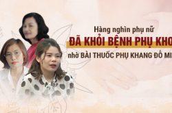 benh nhan noi gi ve bai thuoc phu khang do minh