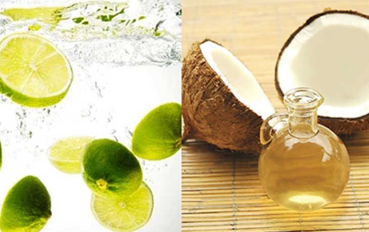 Dầu dừa và vitamin C trong chanh giúp đánh bay tàn nhang nhanh chóng