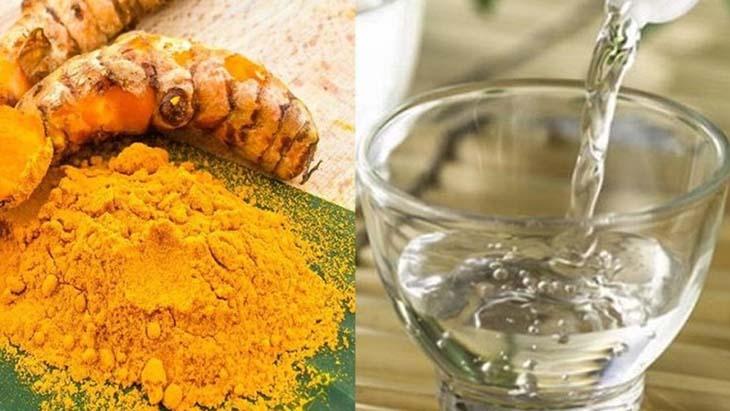 Sử dụng dấm và nghệ để trị tàn nhang