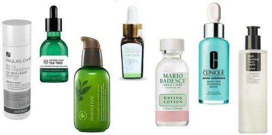 Skincare cho da dầu mụn ẩn