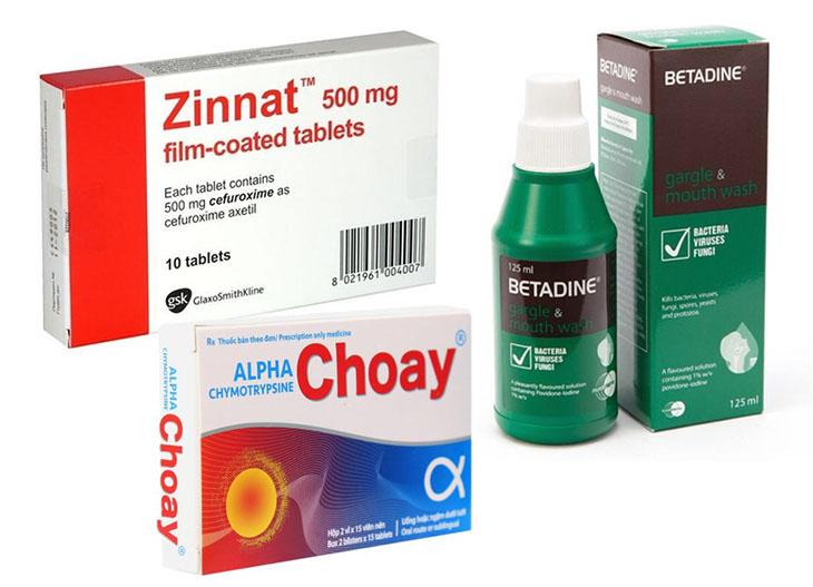 Đơn thuốc chữa viêm amidan thường được dùng cho mẹ bầu