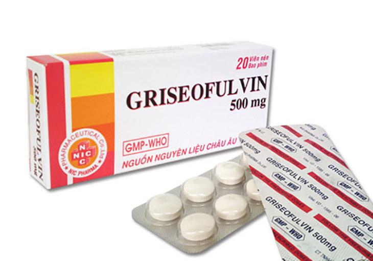 Thuốc uống Griseofulvin là một loại thuốc kháng nấm dạng viên uống trị hắc lào, hắc lào ở mông