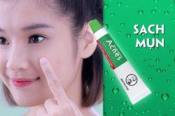 Acnes Sealing Gel ingredients có tính kiềm hóa giúp nhân mụn đẩy lên dễ dàng