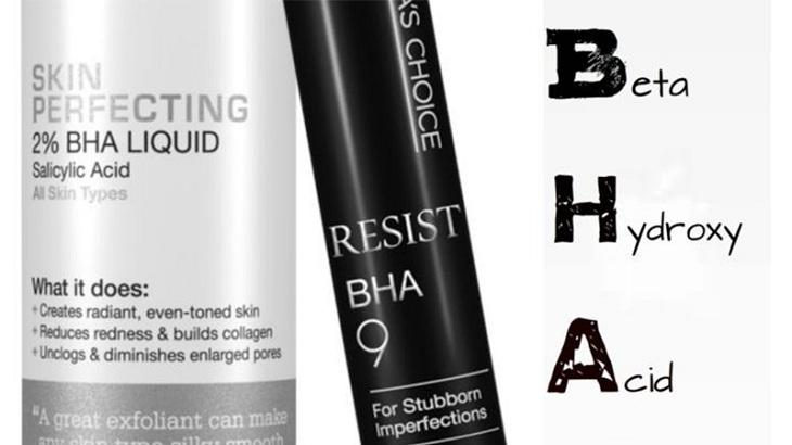 Kem trị mụn ẩn cho da dầu có BHA