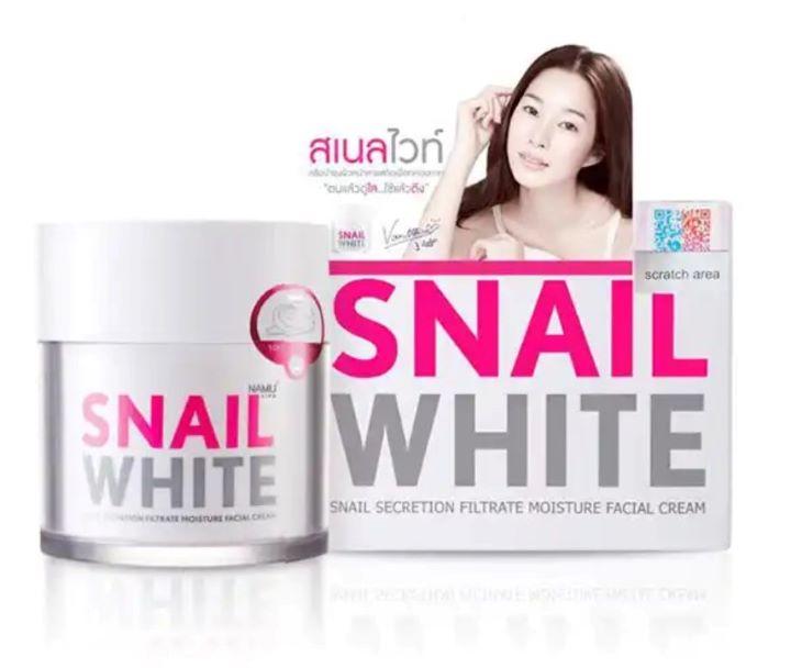 Kem trị tàn nhang và dưỡng trắng Snail White