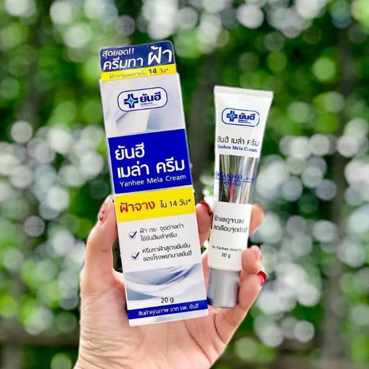 Kem trị tàn nhang Thái Lan Yanhee Mela Cream