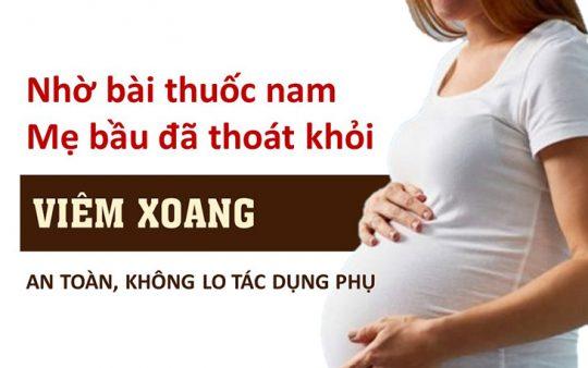 Kinh nghiệm chữa viêm xoang khi mang thai
