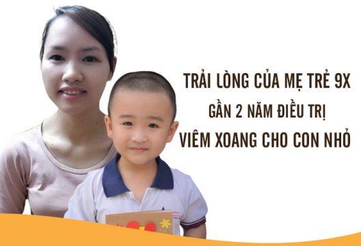 Hành trình điều trị viêm xoang cho trẻ nhỏ bằng Tiêu xoang linh dược thang