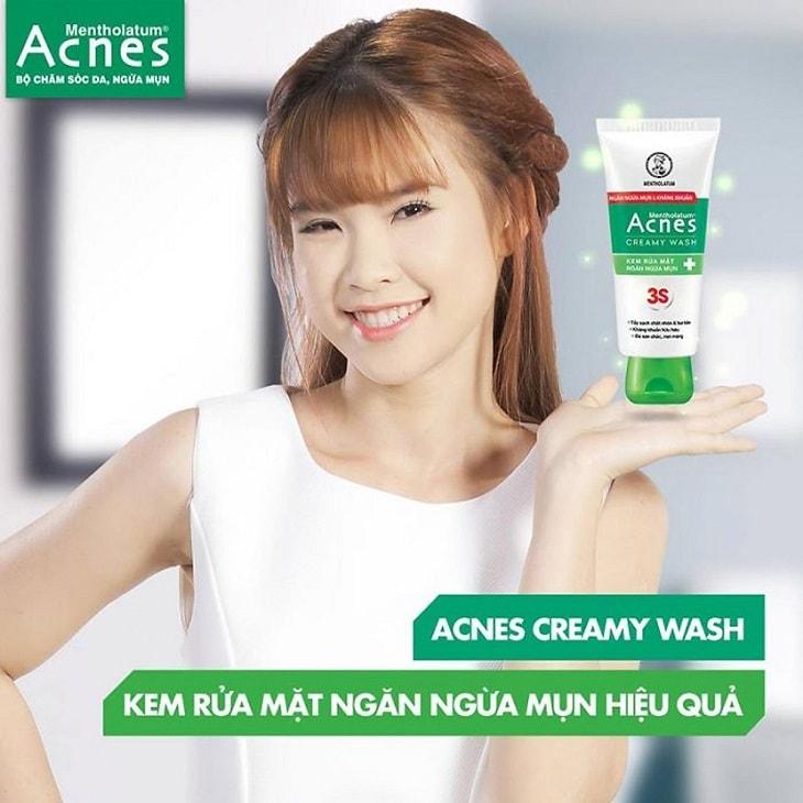 Acnes Creamy Wash dùng có được không?