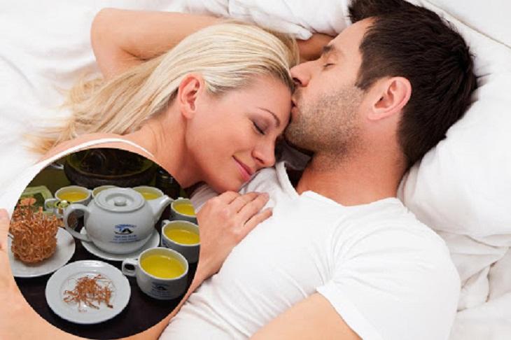 Tác dụng tăng cường sinh lực của Đông trùng hạ thảo với nam giới