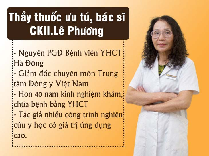 Bác sĩ Lê Phương - người điều trị viêm xoang trực tiếp cho Gia Bảo