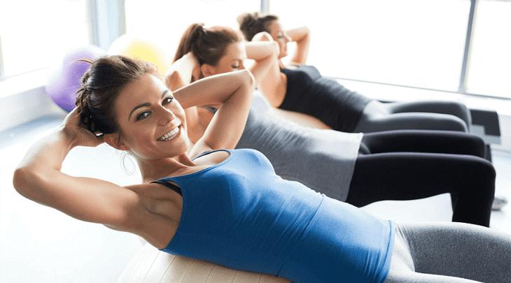 Luyện tập thể dục thể thao thường xuyên kết hợp ăn uống khoa học