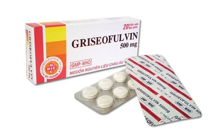 Thuốc trị hắc lào Griseofulvin