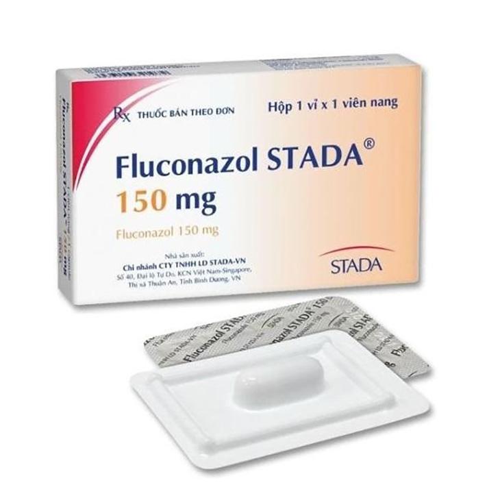 Thuốc trị hắc lào Fluconazol STADA 150mg