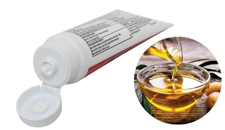 Phục hồi da với dầu oliu và kem đánh răng ngay tại nhà