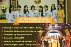 Trung tâm Da liễu Đông y Việt Nam là đơn vị điều trị da liễu bằng Đông y hàng đầu Việt Nam