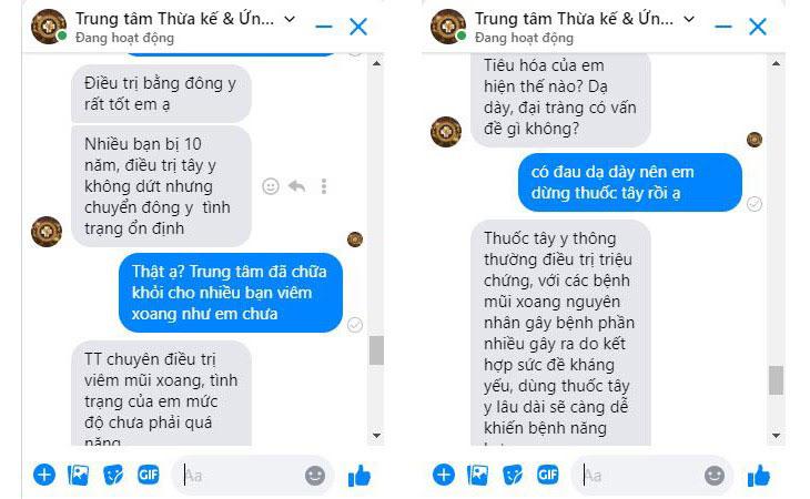 Trung tâm Đông y Việt Nam tư vấn