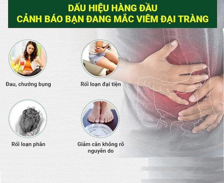 Một số dấu hiệu phổ biến của người bệnh viêm loét đại tràng