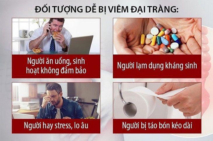 Những đối tượng dễ mắc viêm đại tràng nhất