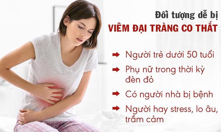 Viêm đại tràng co thắt là căn bệnh phổ biến dễ mắc ở tất cả mọi đối tượng