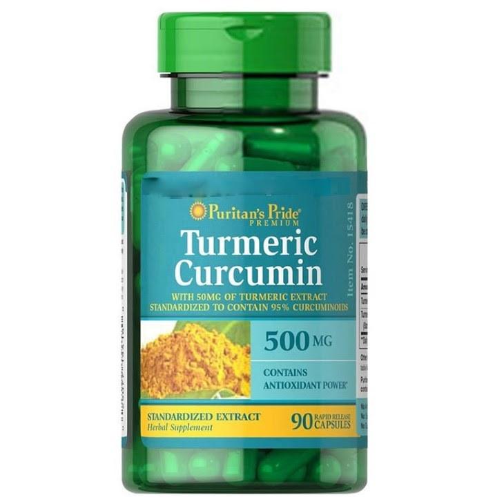 Turmeric Extract là thuốc chữa trào ngược dạ dày của Mỹ