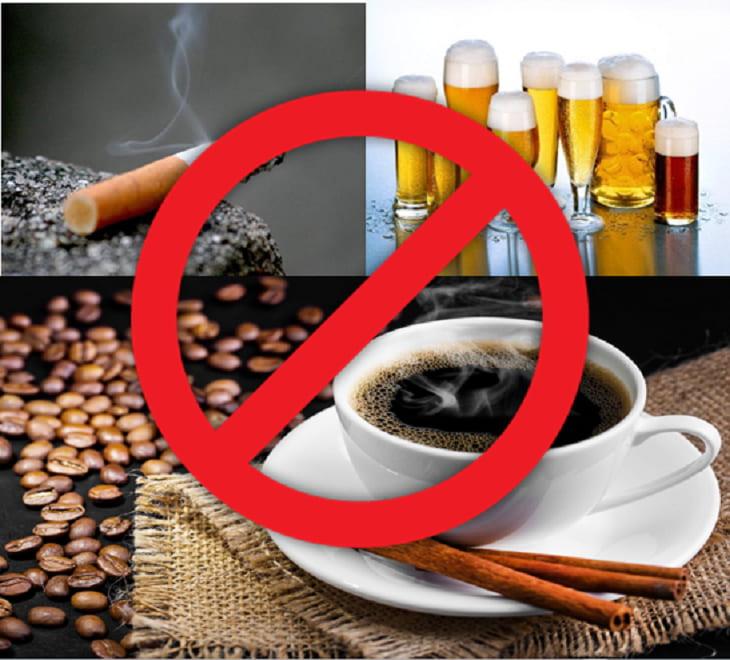 Không hút thuốc, lạm dụng rượu bia và các chất kích thích để phòng ngừa amidan