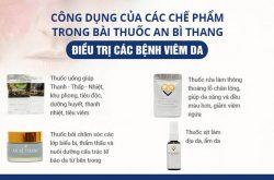 Các chế phẩm trong bài thuốc An Bì Thang