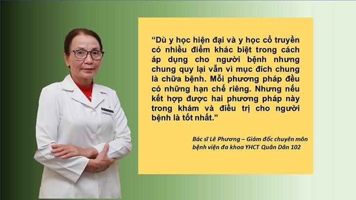 Bác sĩ Lê Phương luôn trăn trở tìm kiếm phương pháp chữa trị hiệu quả nhất cho người bệnh