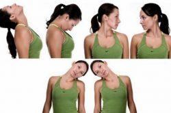 Xoay cổ là bài tập thoát vị đĩa đệm đơn giản giúp thư giãn cơ vùng thoát vị rất tốt