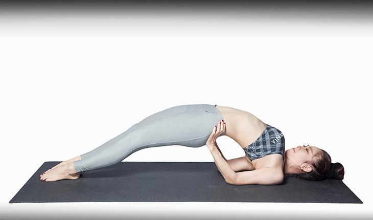Yoga tư thế cây cầu, bài tập thoát vị đĩa đệm hiệu quả