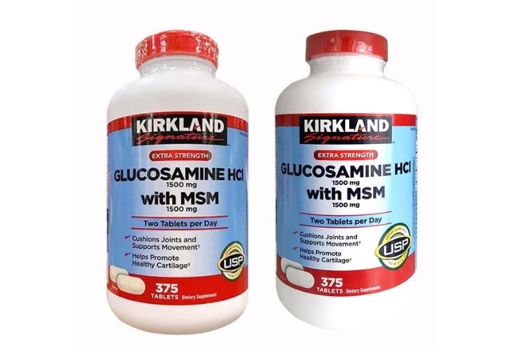 Viên uống bổ khớp Glucosamine HCl 1500mg Kirkland