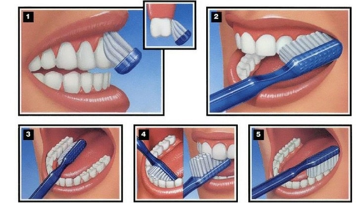Hình ảnh chải răng đúng cách
