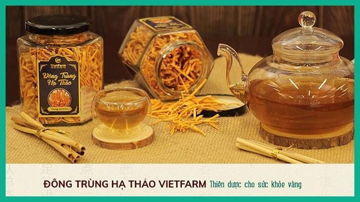 Đông trùng hạ thảo Vietfarm là sản phẩm được nhiều người tiêu dùng đánh giá cao