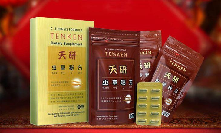 Tenken là loại đông trùng hạ thảo nổi tiếng của Nhật Bản