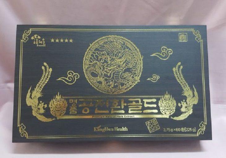 Đông trùng hạ thảo Hàn Quốc có vỏ hộp sang trọng thích hợp để biếu, tặng